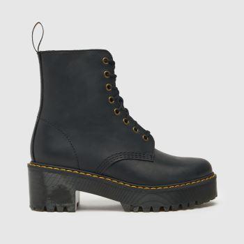 Dr Martens Black Shriver Hi Womens Boots