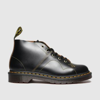 Dr Martens Black Church Boot Womens Boots