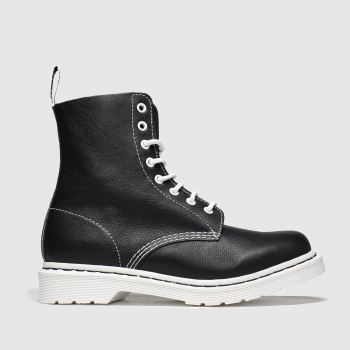 Dr Martens Black & White 1460 Pascal Bw c2namevalue::Womens Boots