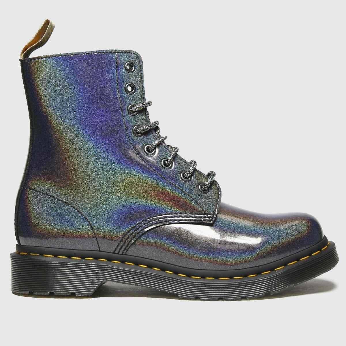 Dr Martens Silver Vegan 1460 Pascal Boots