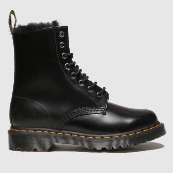 Dr Martens Black 1460 Serena Womens Boots