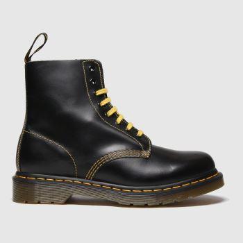 Dr Martens Black Dm 1460 Pascal Atlas Womens Boots