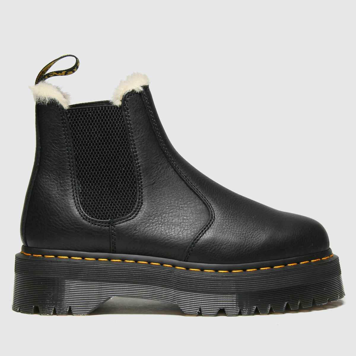 Dr Martens Black 2976 Quad Fur Lined Boots