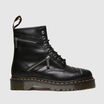 Dr Martens Black 1460 Bex Zip Womens Boots
