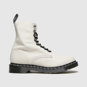 Dr Martens White 1460 Pascal Hardware Womens Boots