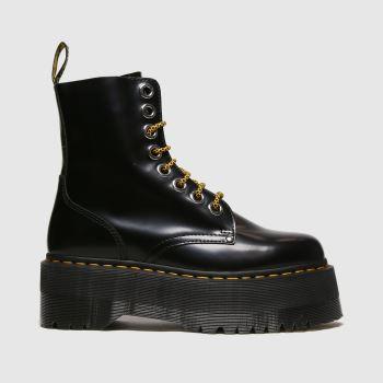 Dr Martens Black Jadon Max Womens Boots