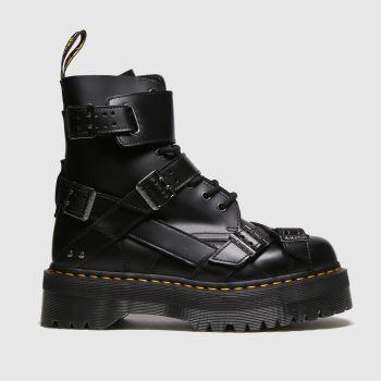 Dr Martens Black Jadon Strap Womens Boots