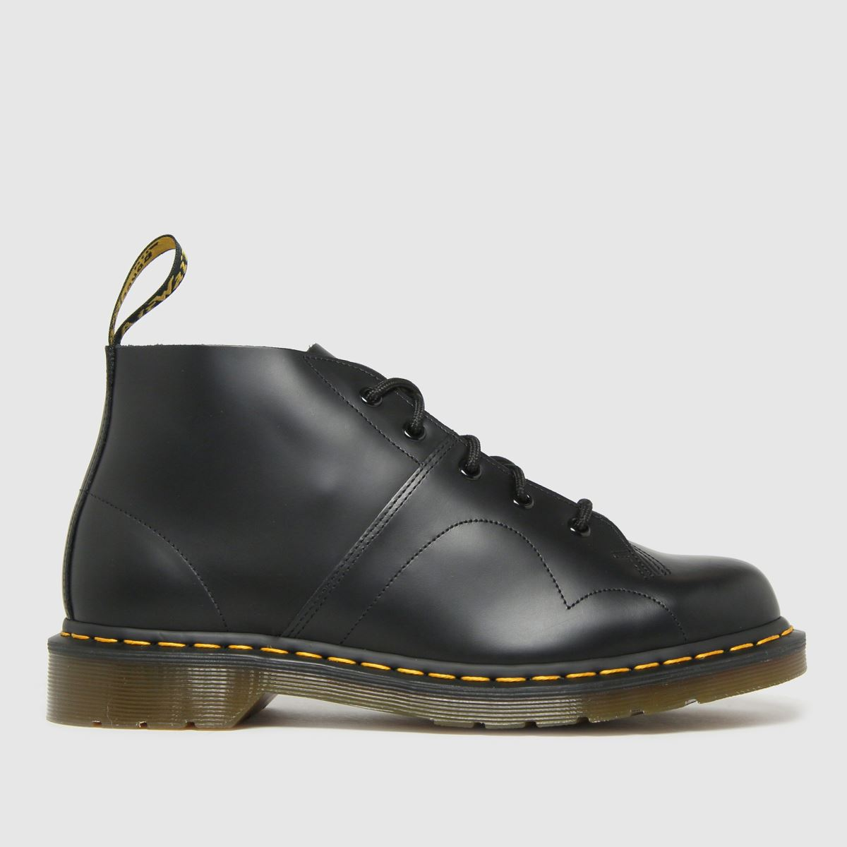 Dr Martens Black Church Boots