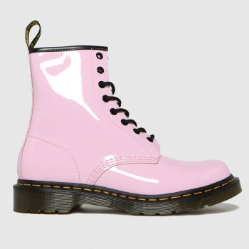 Dr Martens Pale Pink 1460 Womens Boots