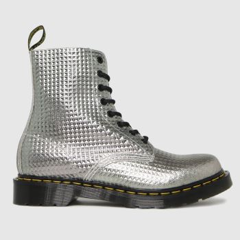 Dr Martens Silver 1460 Pascal Womens Boots