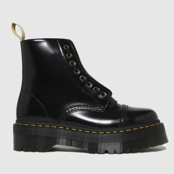 Dr Martens Black Sinclair Vegan Womens Boots