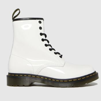 Dr Martens White 1460 Womens Boots