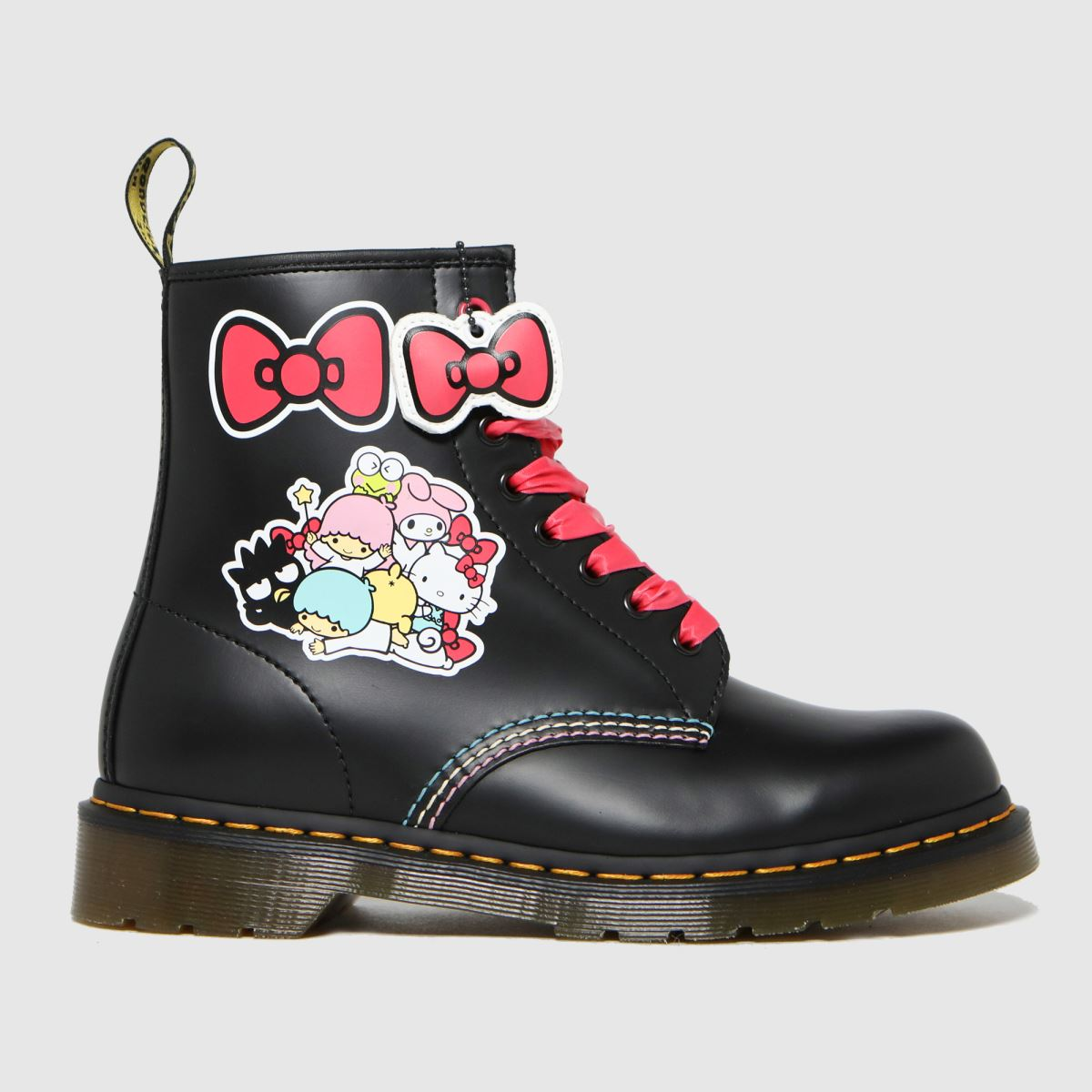 Dr Martens Black 1460 Hello Kitty Boots