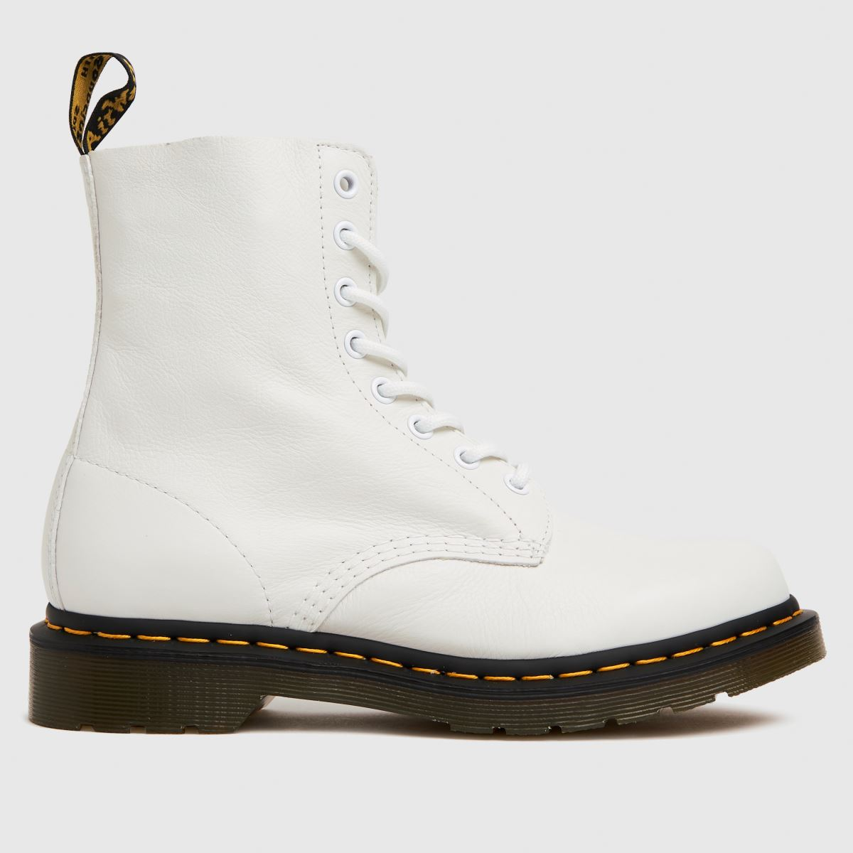 Dr Martens White 1460 Pascal Boots