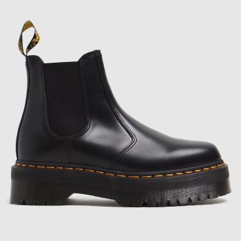 Dr Martens Black 2976 Quad Chelsea Womens Boots