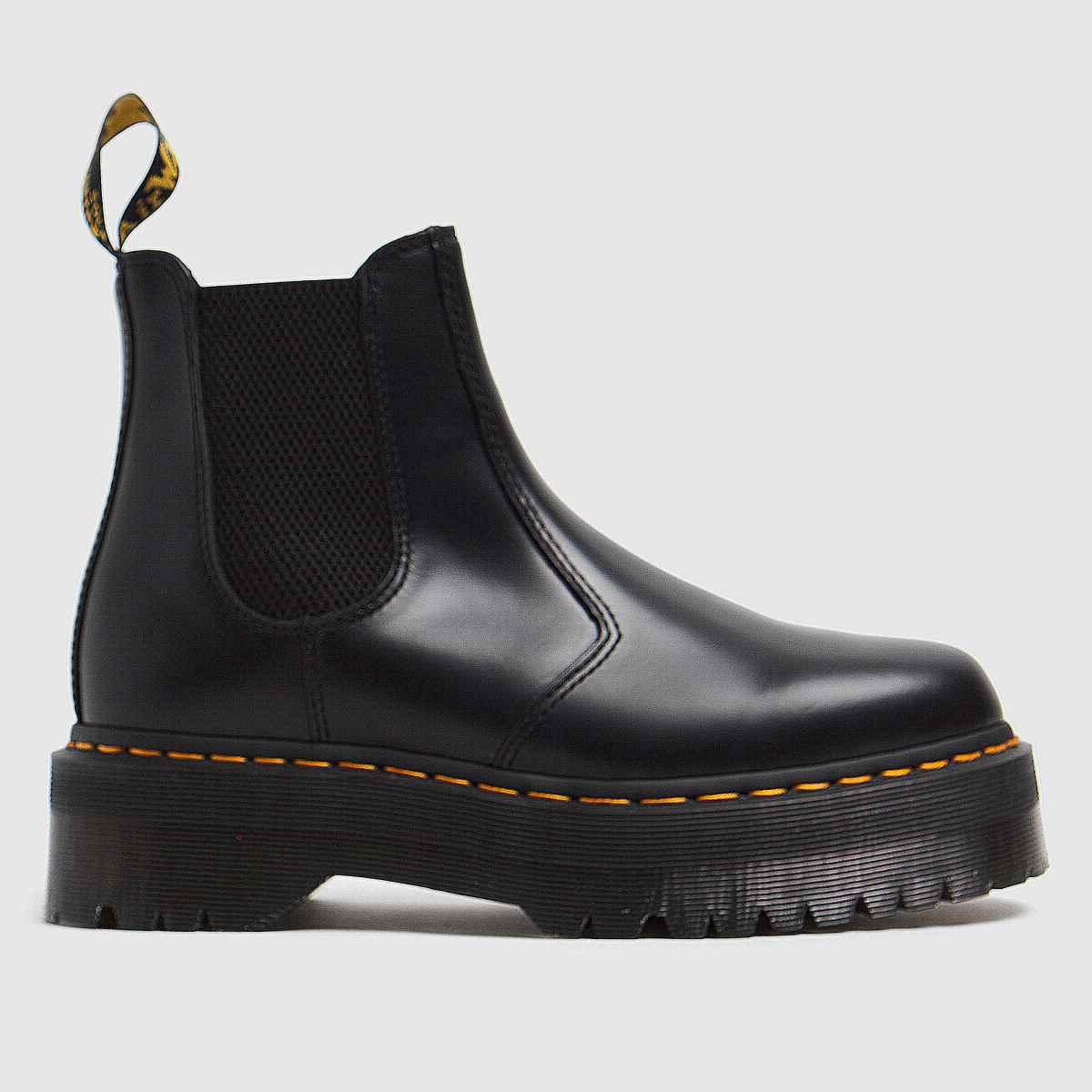 Dr Martens Black 2976 Quad Chelsea Boots