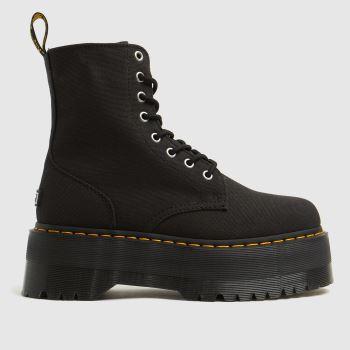 Dr Martens Black Jadon Max X-girl Womens Boots