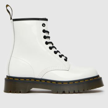 Dr Martens White 1460 Bex Womens Boots