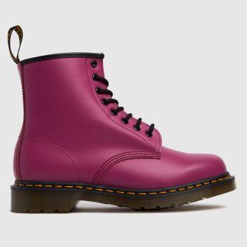 Dr Martens Pink 1460 Womens Boots