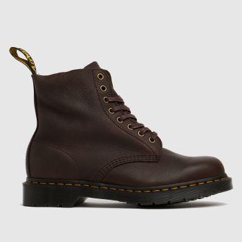 Dr Martens Dark Brown 1460 Pascal Womens Boots
