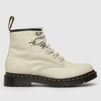Dr Martens White 101 Virginia Boots