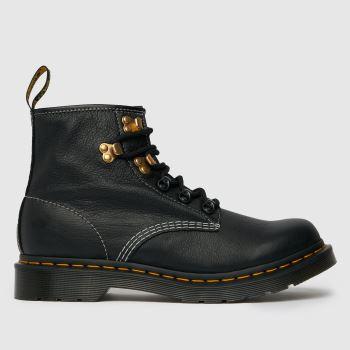 Dr Martens Black 101 Virginia Womens Boots