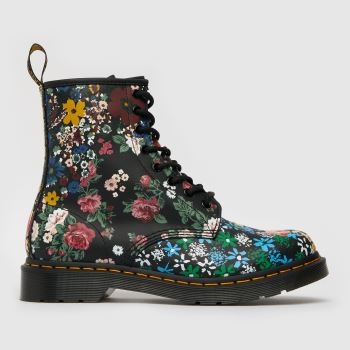 Dr Martens Multi 1460 Pascal Floral Womens Boots