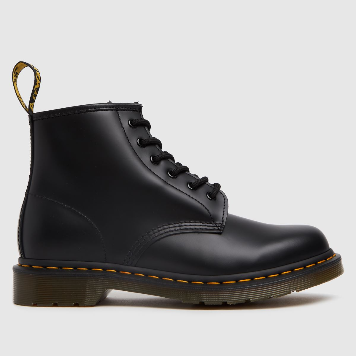Dr Martens Black 101 Ys 6 Eye Boots