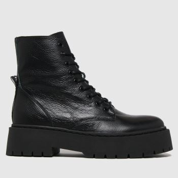 Steve Madden Black Skylar Womens Boots