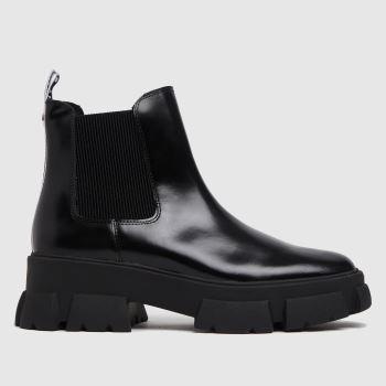 Steve Madden Black Tusk Womens Boots