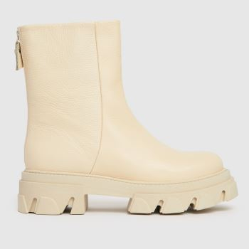 Steve Madden Beige Maryann Ankle Boot Womens Boots