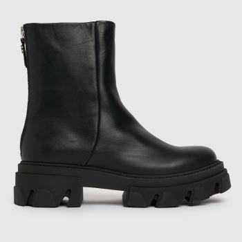 Steve Madden Black Sm Maryann Ankle Boots