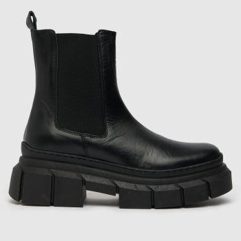 schuh Black Amalfi Chunky Chelsea Womens Boots