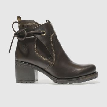 FLY LONDON BROWN LUXE BOOTS