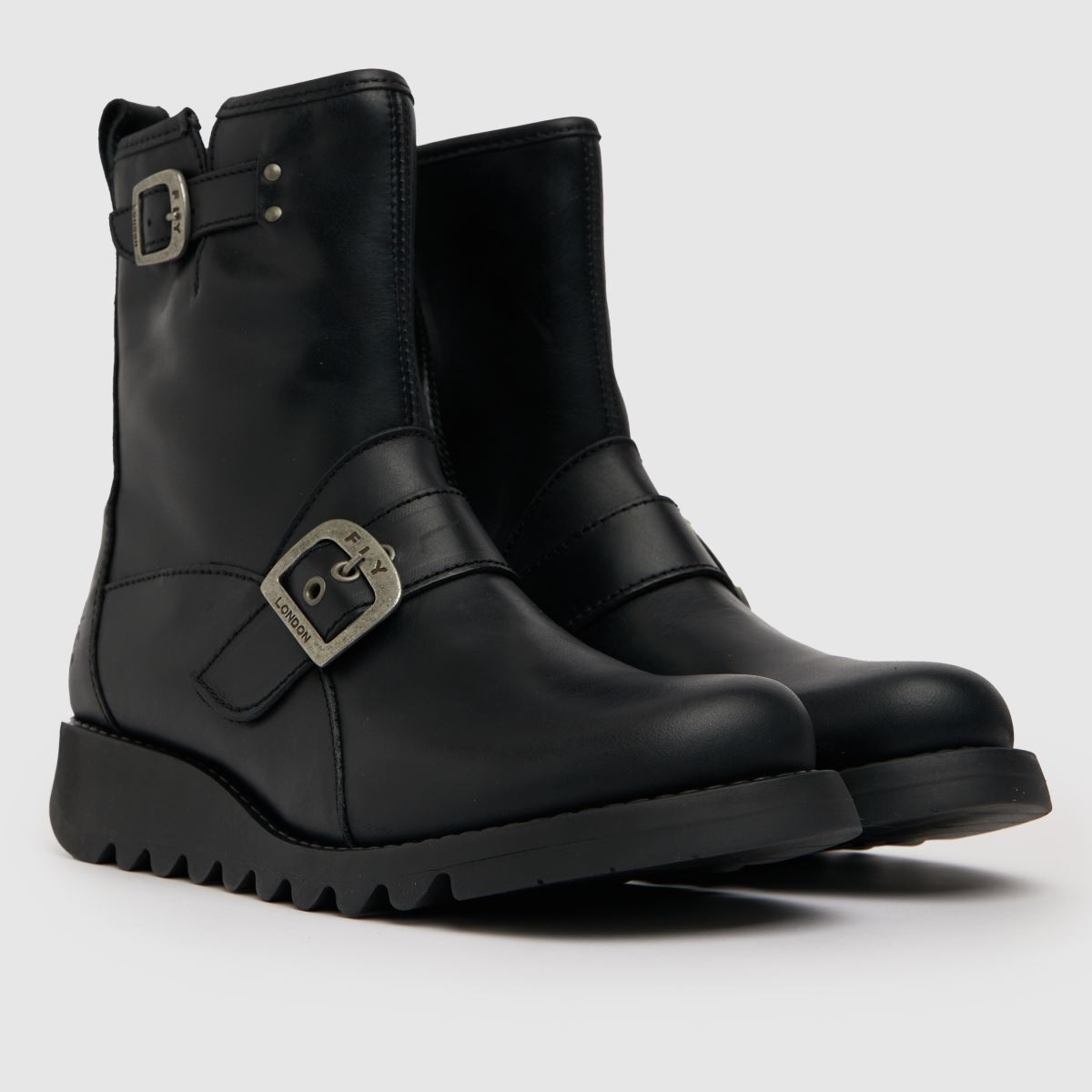 Damen Schwarz fly london Same Boots | schuh Gute Qualität beliebte Schuhe