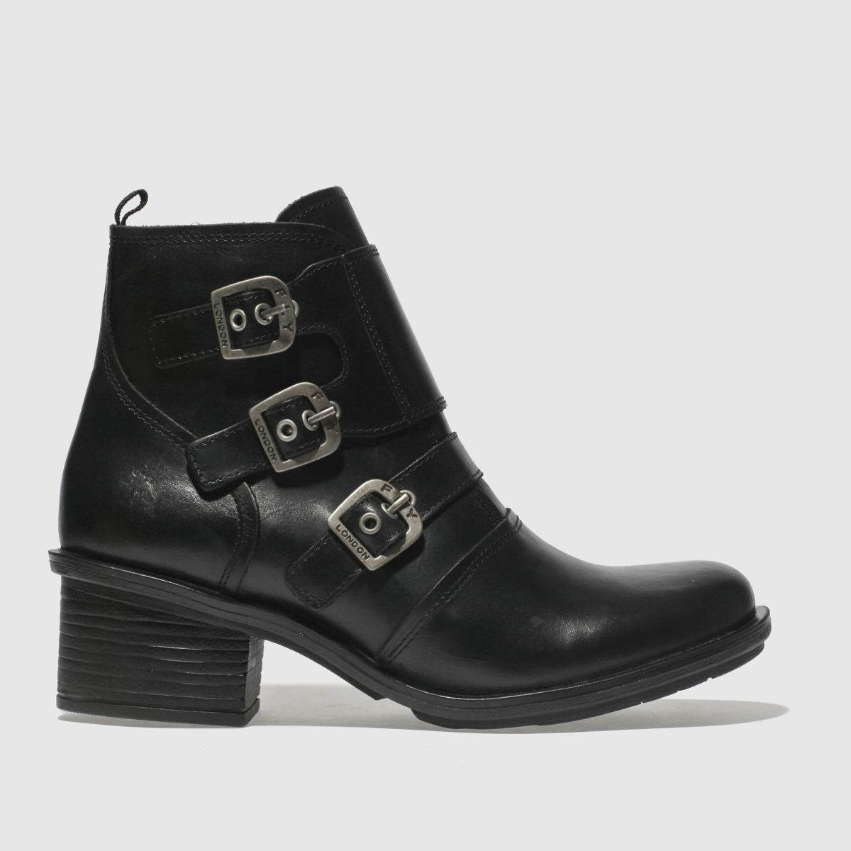 Fly London Black Crip Boots