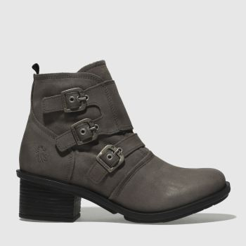Fly London Grey Crip Womens Boots