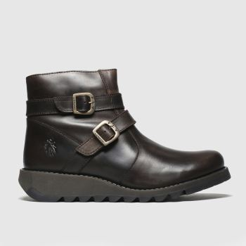 Fly London Braun Serz c2namevalue::Damen Boots