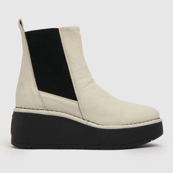Fly London Stone Fly Hagu Platform Chelsea Boot Womens Boots