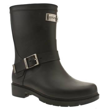 HUNTER black shoreditch boots