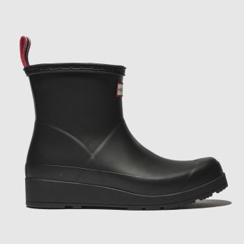 Hunter Black ORIGINAL PLAY SHORT Boots