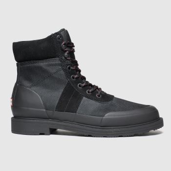 Hunter Black Original Commando c2namevalue::Womens Boots