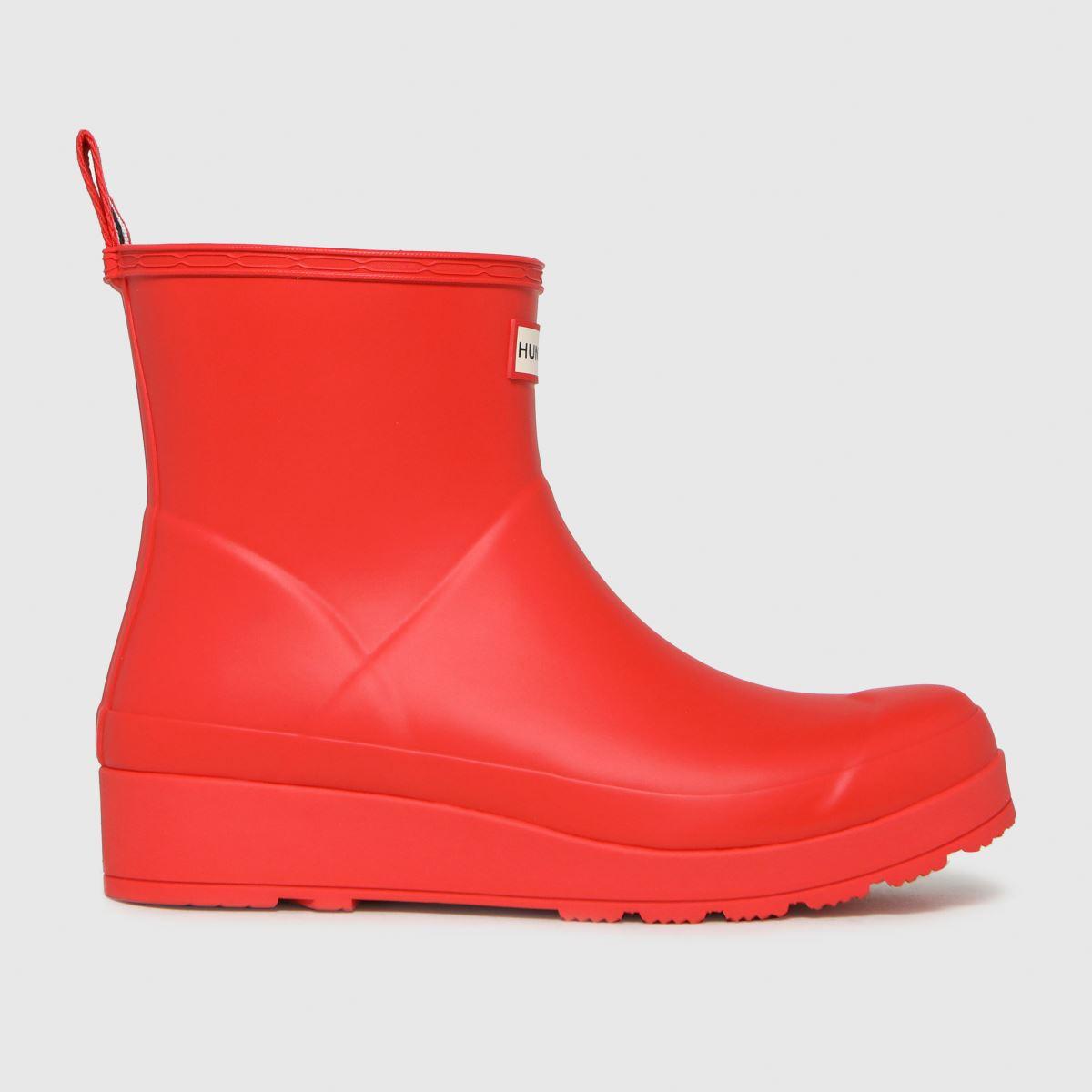 Hunter Red Original Play Short Boots