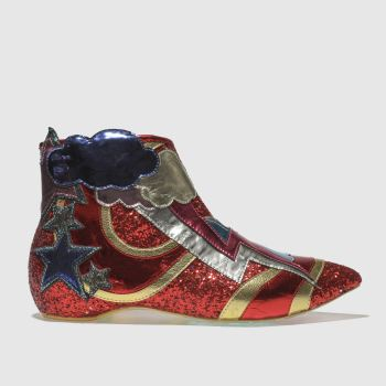 Irregular Choice Multi Electric Buzz Womens Boots