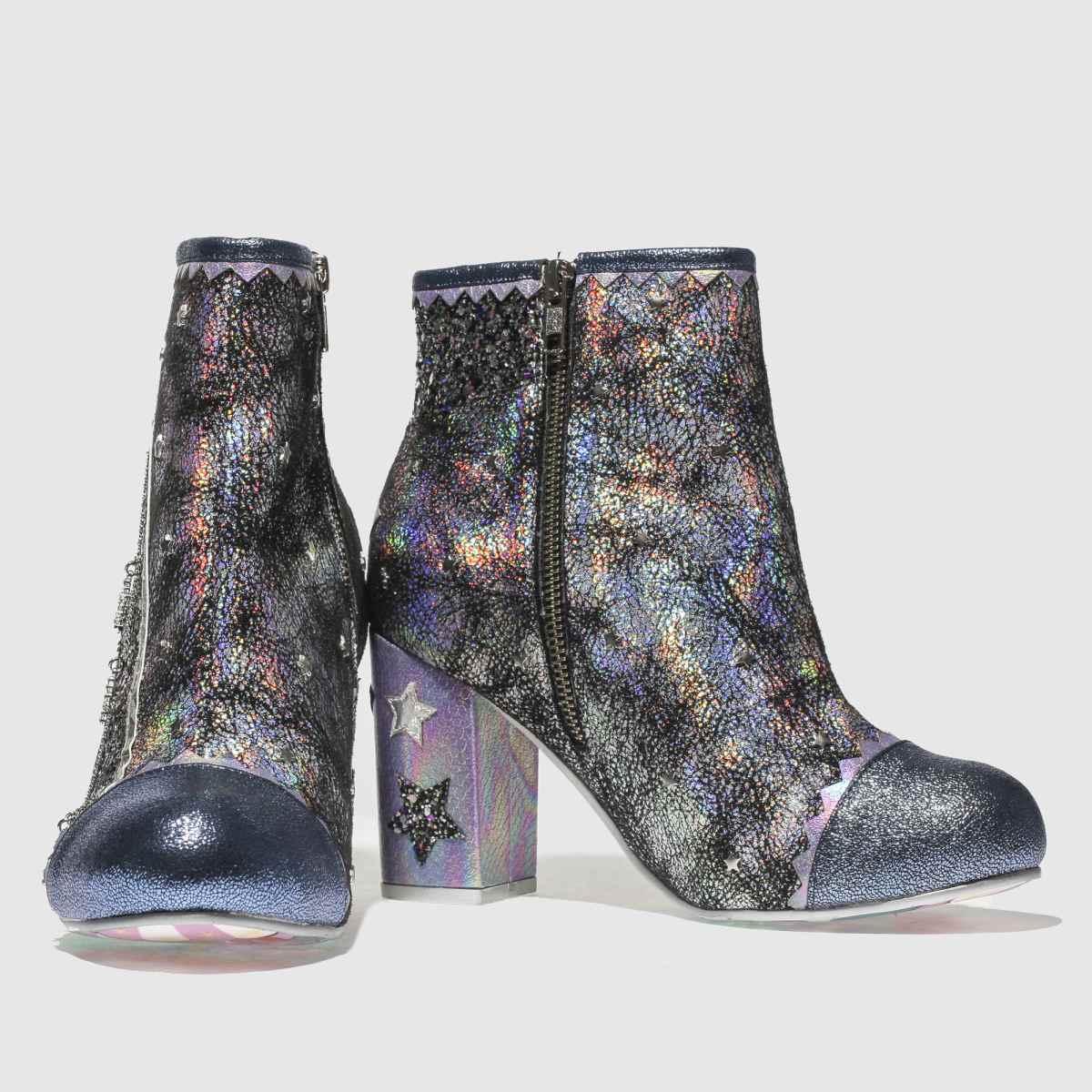 Damen Schwarz-violett irregular choice Major Tom Boots   schuh Gute Qualität beliebte Schuhe