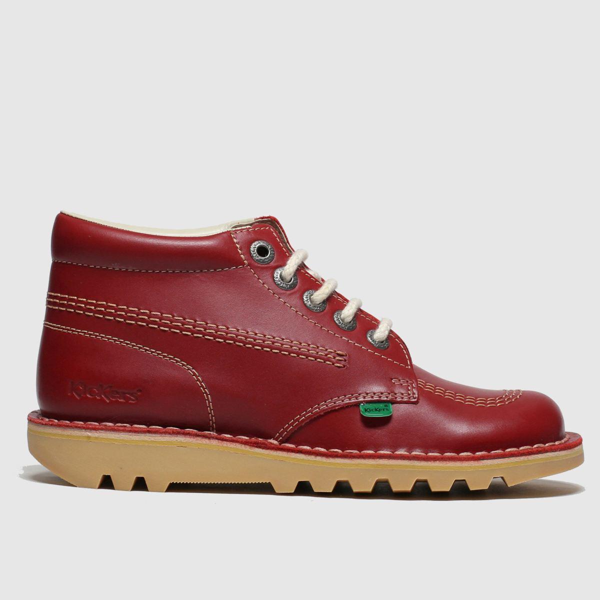 Kickers Red Kick Hi Boots