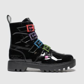 Kickers Black Kizzie X Confetti Crowd c2namevalue::Womens Boots