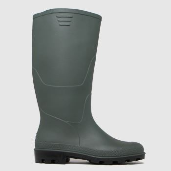 schuh Green Wynter Green Wellington Womens Boots