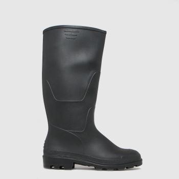 schuh Black Wynter Black Wellington Womens Boots