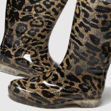 schuh Wendy Leopard Wellington 1